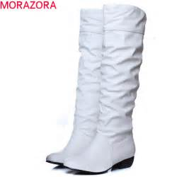 large size 2016 new arrive winter knee high boots