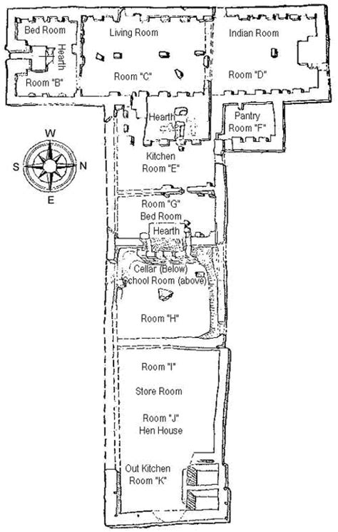 t shaped home floor plans