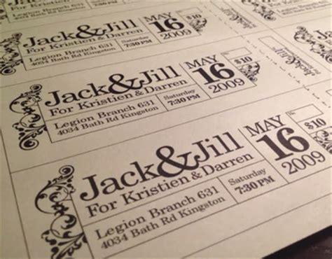jack jill tickets on behance