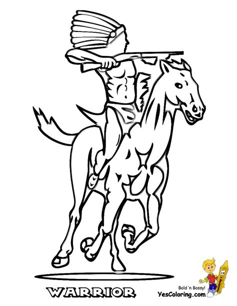 ride em cowboy coloring free coloring for kids