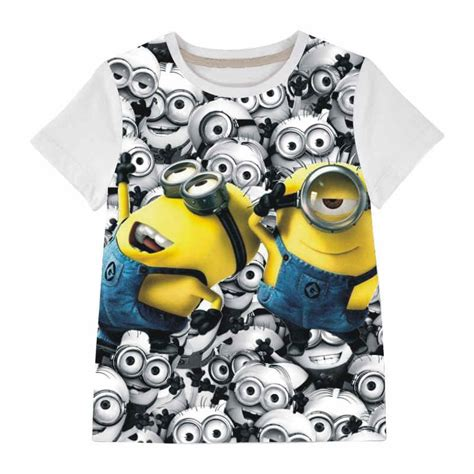 despicable me boys clothing and children t shirts minions