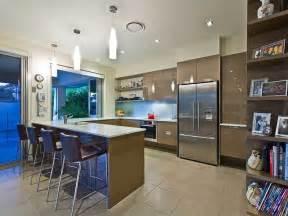 Kitchen Bulkhead Ideas Modern U Shaped Kitchen Design Using Stainless Steel