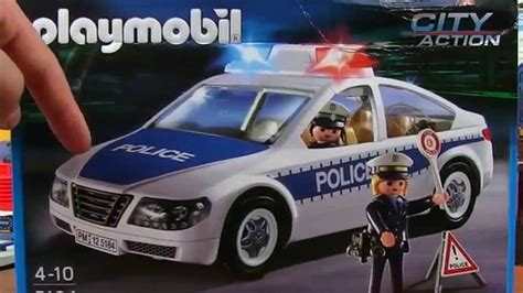 police car toy with flashing lights playmobil police car toy with flashing emergency lights