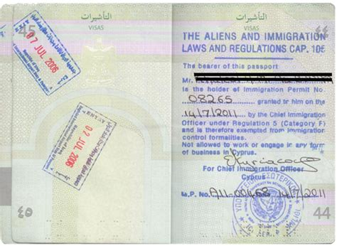 Certificate Of Clean Criminal Record Permanent Residence Permit Visa In Cyprus Eu Citizenship