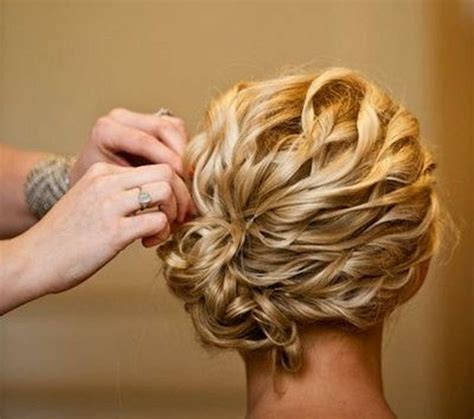 medium length updo with instructions the 30 most romantic wedding hairstyle ideas medium