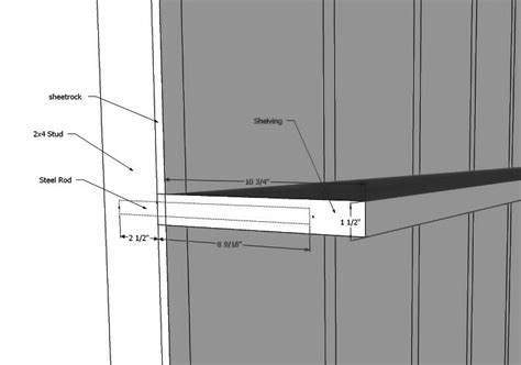 Secret Shelf Brackets by Shelf Brackets Finish Carpentry Contractor Talk