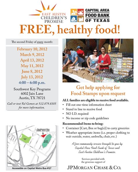 Food Pantries Of The Capital District by Free Food At Southwest Key S Food Pantry Free In