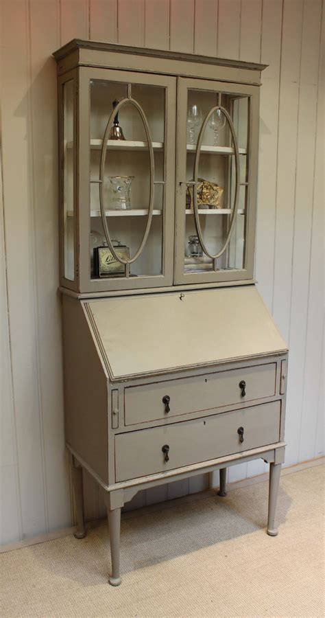 bureau bookcase painted bureau bookcase 303964 sellingantiques co uk