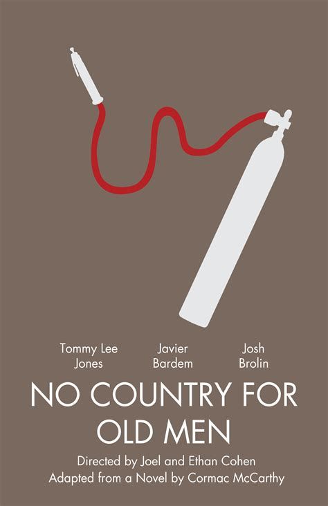 no253 my no country for old men minimal movie poster art print by chungkong society6 the gallery for gt no country for old men minimalist poster