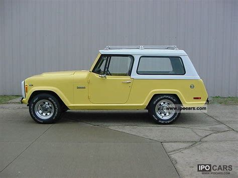 1972 Jeep Commander 1972 Jeep Commando Car Photo And Specs