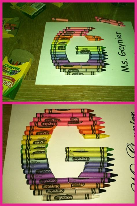 5 Letter Words Out Of Crayon crayon letter g made out of crayons my pins
