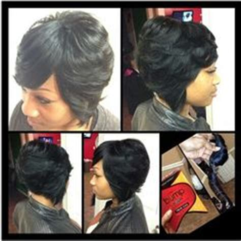pics of bump feather sew in hairstyles on pinterest salon style black women and