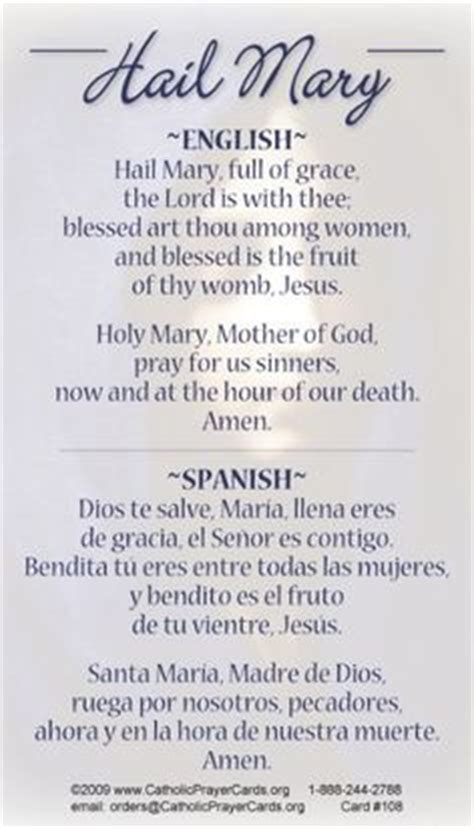 testo the prayer bilingual our prayer card