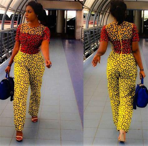 jumpsuit with ankara creative ankara jumpsuit 2016 for african woman debonke
