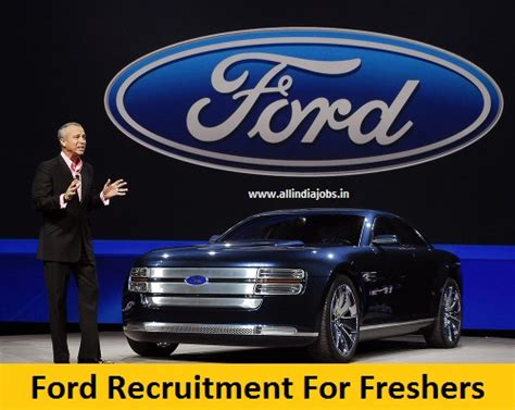 Ford Mba Internship by Ford Recruitment 2018 2019 Openings For Freshers