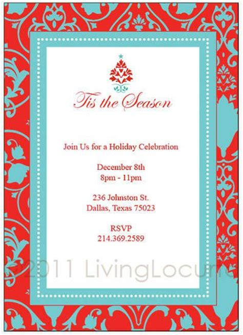 printable free xmas invitations 16 best images about invitation templates on pinterest