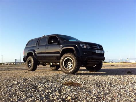 volkswagen amarok lifted nearly finished building amarok delta monster amarok
