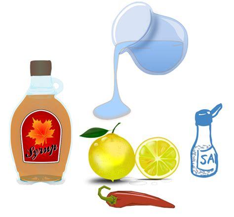 Lemonade Detox Recipe Ingredients by Master Cleanse Recipe How To Make The Lemonade
