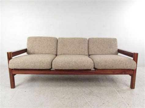 sofa israel mid century modern rosewood sofa made in israel for sale