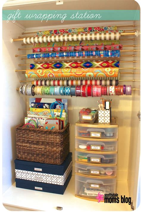 gift wrap storage ideas best 25 gift wrap storage ideas on wrapping