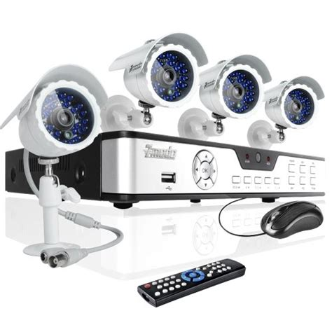 zmodo 4ch home security dvr cctv surveillance