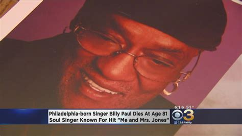 philly soul singer billy paul dies at 81 manager nbc 10 soul singer billy paul dies at 81 aol entertainment