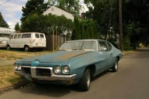 70 Pontiac Tempest Parked Cars 1970 Pontiac Tempest