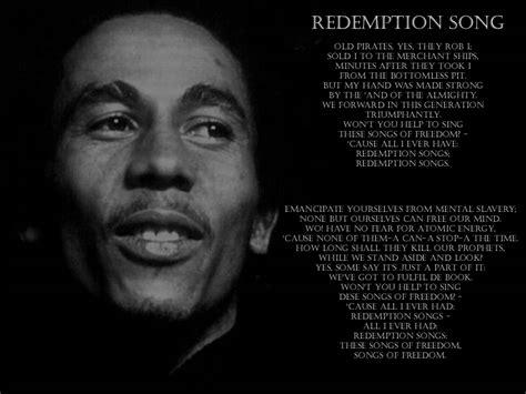 one bob marley testo bob marley redemption song dolcevita
