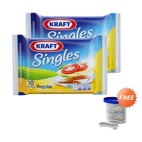 Kraft Singles Isi 10 jual krafttastic 2 kraft singles high calcium with