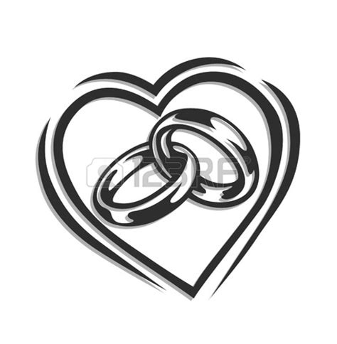 Wedding Ring Clipart Black And White by Silver Wedding Ring Clipart Clipart Panda Free Clipart