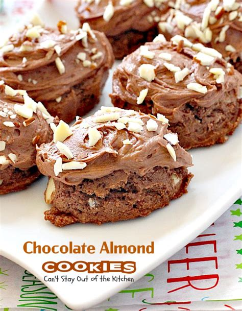 choco almond cookies chocolate almond cookies can t stay out of the kitchen