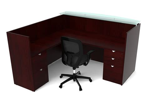 Wood Reception Desks Wood And Glass Reception Desk Wood Reception Area Furniture