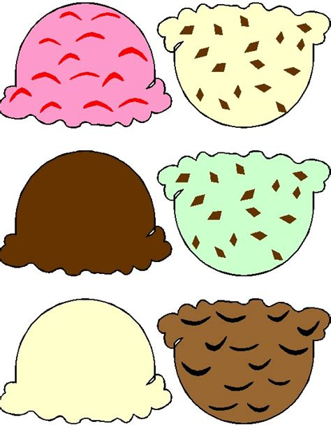 ice cream cone printable