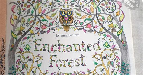 enchanted forest coloring book review click s clan colouring in enchanted forest by johanna