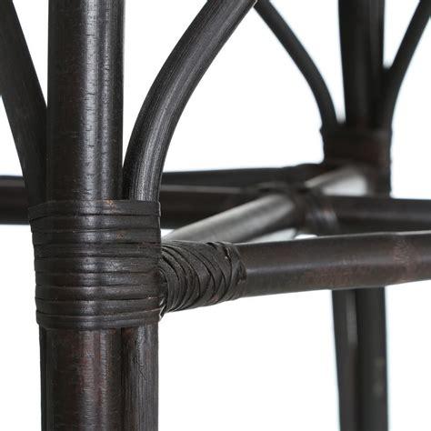 sedie bambu sedia nera bamb 249 e rattan etnico outlet mobili etnici
