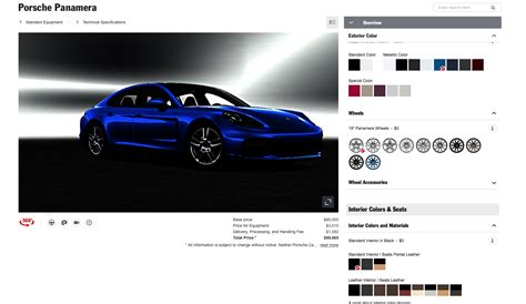 porsche configurator mac porsche configurator display issue rennlist