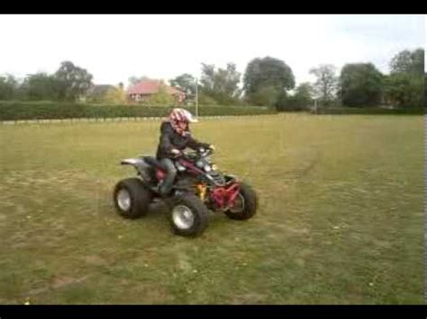 jack riding smc ram 250 quad bike youtube
