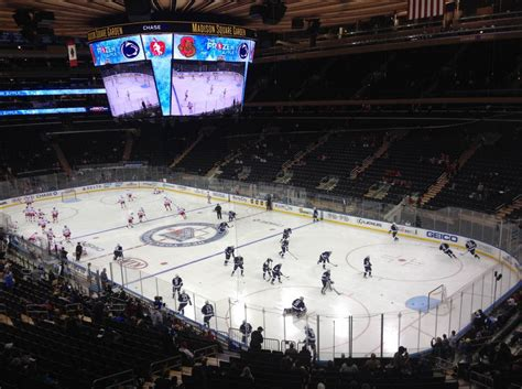 Square Garden Internships by Penn State Hockey Falls To Cornell At Square
