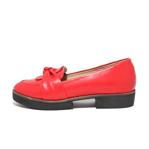 Size 36 37 38 Sepatu St Yves bow loafer 13th shoes
