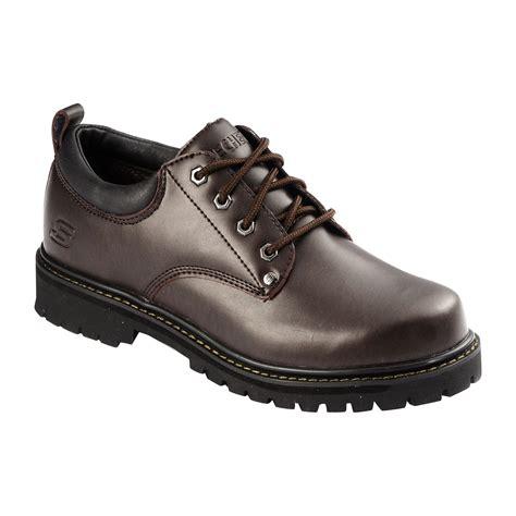 skechers brown leather shoe sears