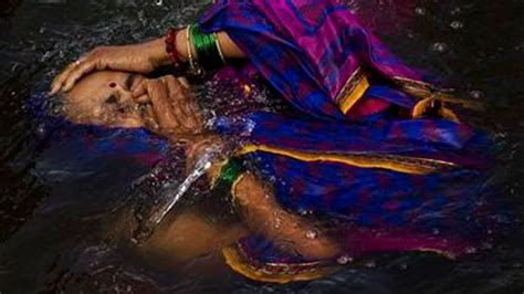 River Region Detox by India S River Waters Cleanse Spirits At Hindu Festival