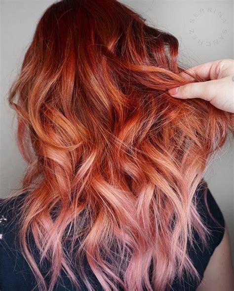 copper colored hair copper pink hair tous pour beaute hair hair