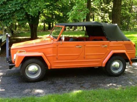 miles   owners original  volkswagen  bring  trailer