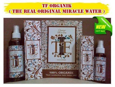 mengobati jerawat batu  miracle water tf organik