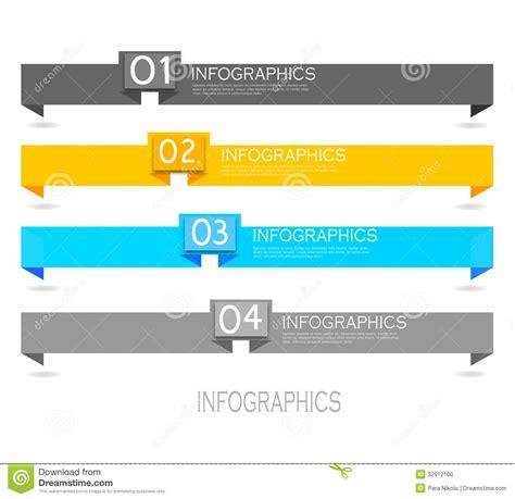 design banner eps file infographic banner design elements stock vector image