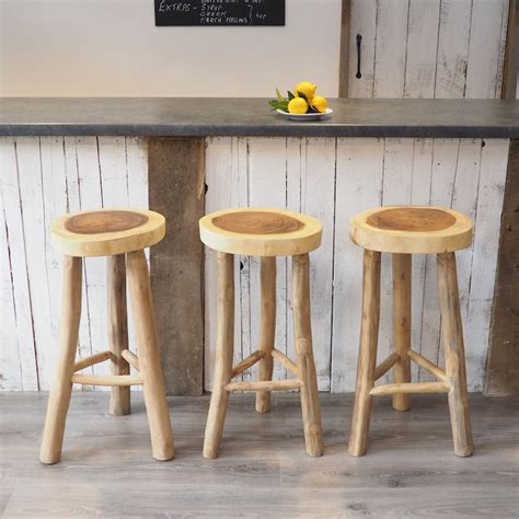 Rustic Stools For Kitchen by Rustic Wood Kitchen Stool Zaza Homes