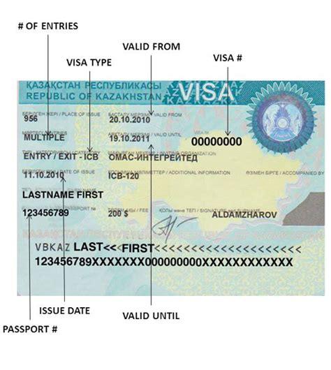 Visa Support Letter Kazakhstan passport visas express