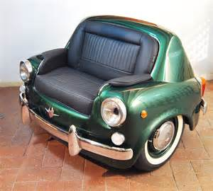 Cars Sofa by Cool Custom Car Couches