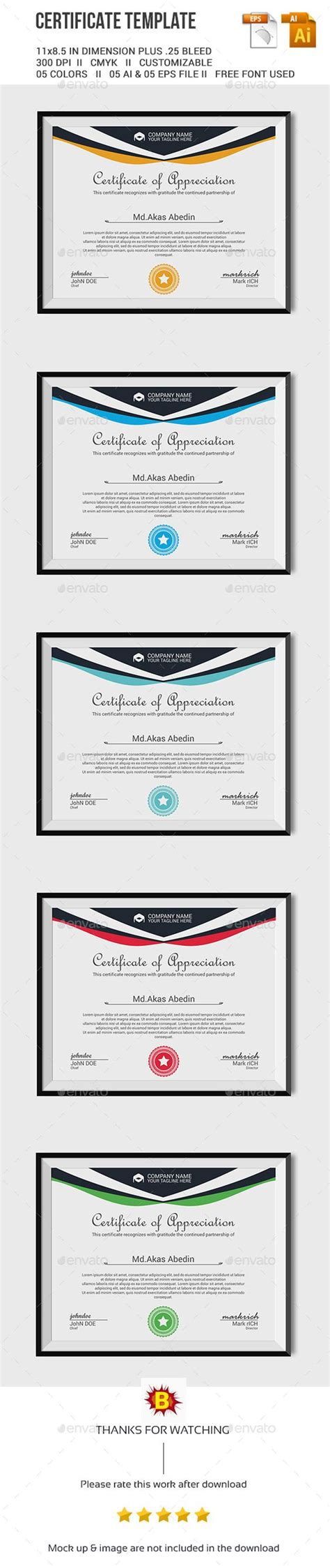 certificate template ai certificate template vector eps ai here http