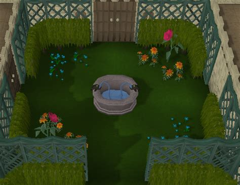 formal garden runescape box hedge the runescape wiki